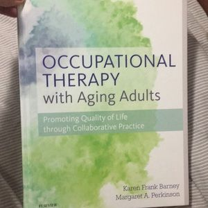 Occupational therapy book